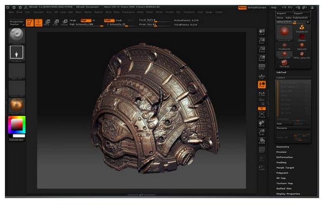 Card đồ họa cho phần mềm 3D Coat