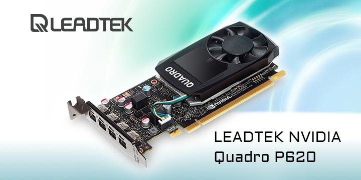 LEADTEK ra mắt sản phẩm NVIDIA Quadro P620