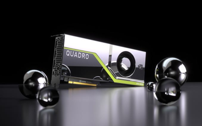 NVIDIA ra mắt Quadro mới với các mẫu RTX 8000, 6000, 5000