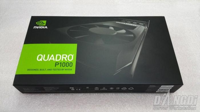 [Review] Đánh giá NVIDIA Quadro P1000