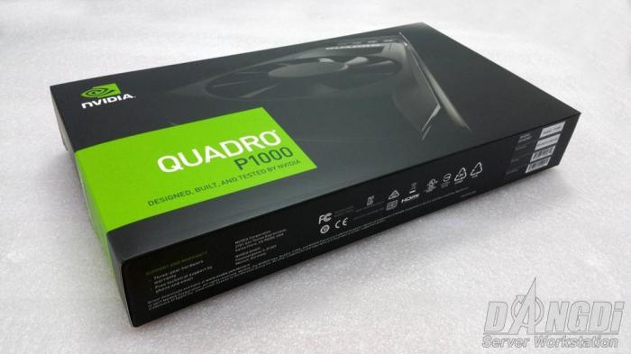 [Review] Đánh giá NVIDIA Quadro P1000-3