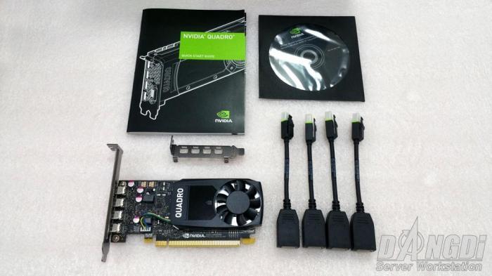 [Review] Đánh giá NVIDIA Quadro P1000-5