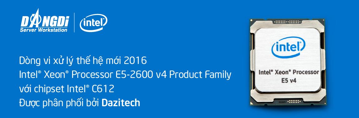 Banner Intel Xeon E5-2600 v4