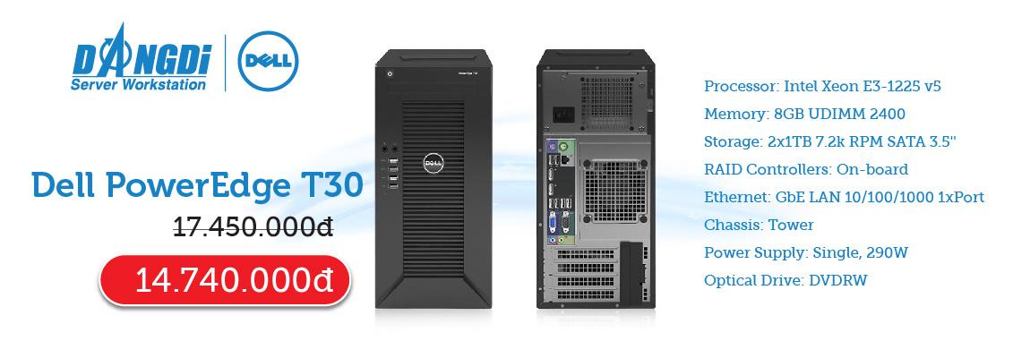 Khuyến mãi Dell R430