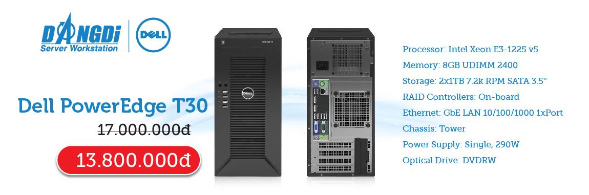 Khuyến mãi Dell T30