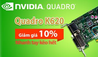Giảm giá Card Quadro và Server Dell đến 15%