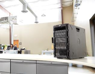 PowerEdge T430 Tower Server - Scale and adapt with greater versatility