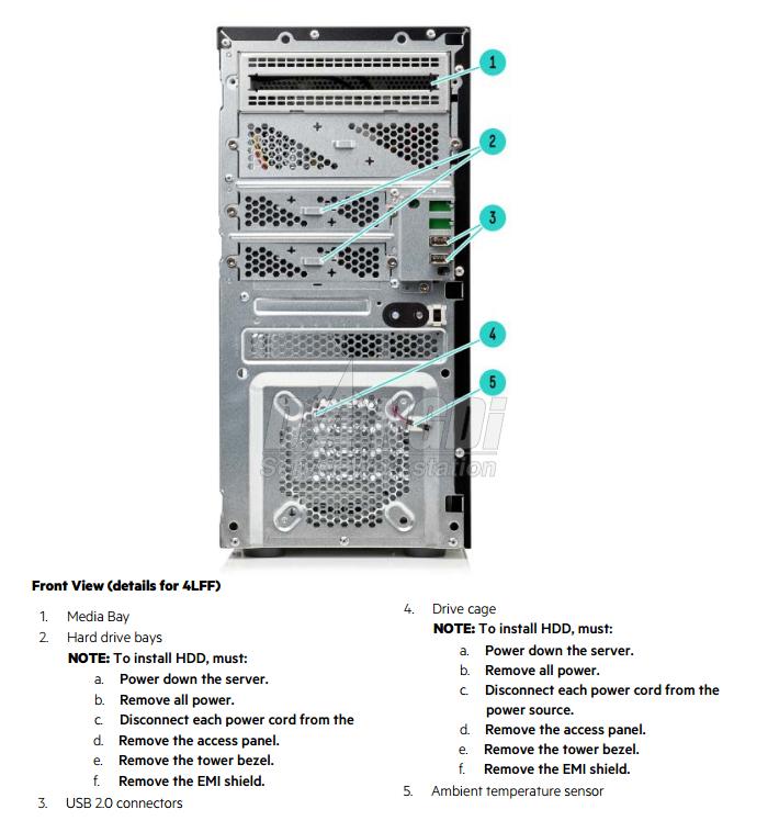 Giới thiệu HP ProLiant ML10 G9-1