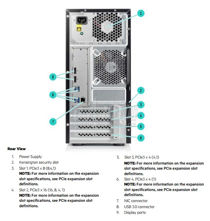 Giới thiệu HP ProLiant ML10 G9-2