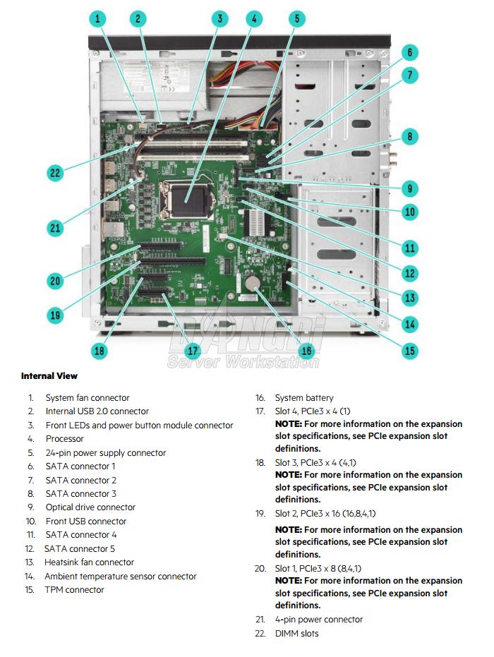 Giới thiệu HP ProLiant ML10 G9-3
