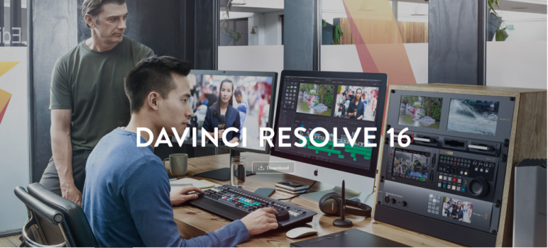 DaVinci Resolve Studio 16 (DV/RESSTUD)