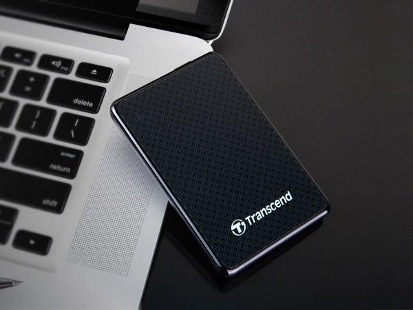 SSD Transcend ESD400 cho doanh nhân và người dùng chuyên nghiệp