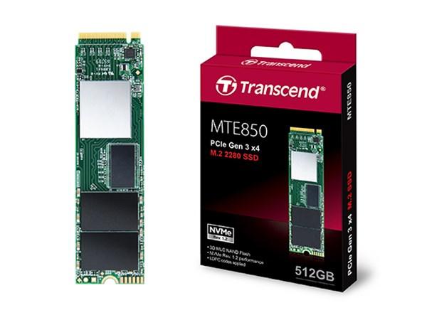 Transcend ra mắt ổ SSD MTE850 với tốc độ khủng