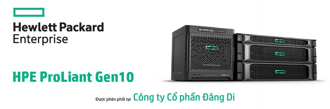 Banner HPE ProLiant DL360 G10