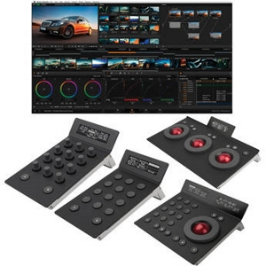 Blackmagic Design DaVinci Resolve with Tangent Devices Element Panels Kit