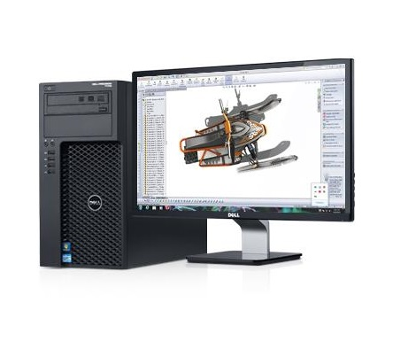 DELL Precision  T1700 SFF Workstation E3-1240 v2
