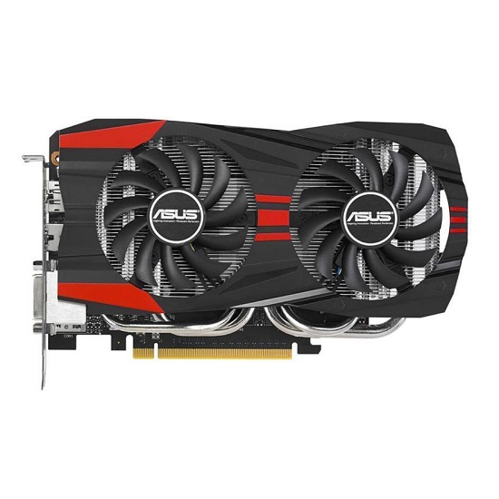 ASUS GeForce GTX 760 (1152 core, 2GB GDDR5, 256bit, 192 GB/s, 225W)