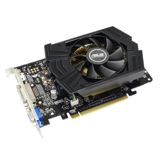 ASUS Geforce GTX 750 OC (512 core, 1GB GDDR5, 128bit, 80.2 GB/s, 75 W)