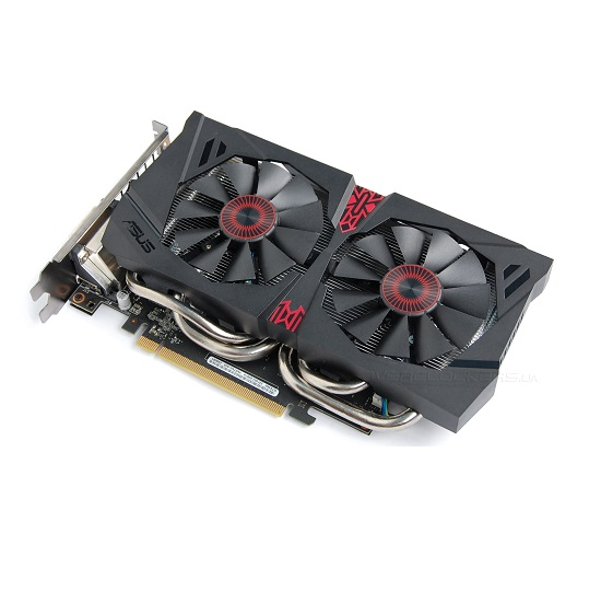 ASUS GeForce GTX 960 DC2OC Black (1024 core, 2GB GDDR5, 128bit, 112 GB/s, 150W)