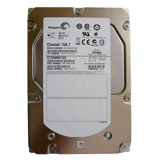 HDD Seagate Cheetah 15K.7 300 GB 15000rpm 16 MB SAS 6 Gb/s 3.5 inch (ST3300657SS)