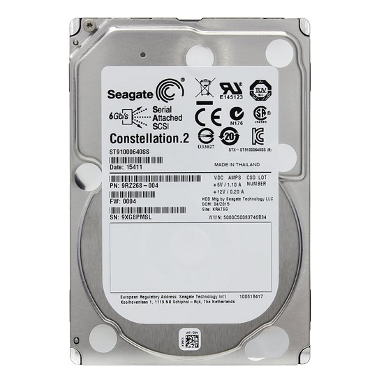 HDD Seagate Constellation 2 1 TB 7200rpm 64 MB SAS 6 Gb/s 2.5 inch (ST91000640SS)