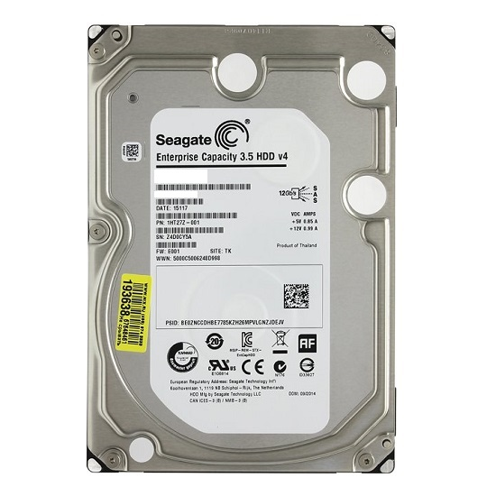 HDD Seagate Enterprise Capacity 6 TB 7200rpm 128 MB SAS 12 Gb/s 3.5 inch (ST6000NM0034)