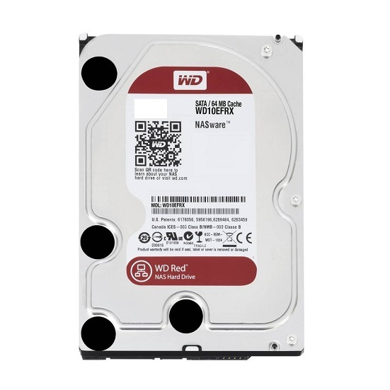 HDD WD RED 1 TB Intellipower 16 MB SATA 6 Gb/s 2.5 inch (WD10JFCH)