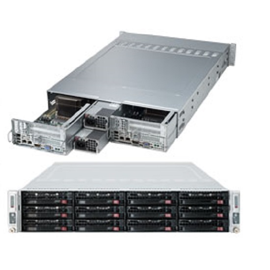 Supermicro SuperServer  6027TR-D70FRF