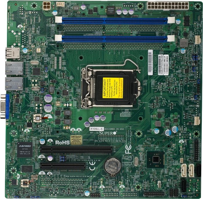 Mainboard Supermicro X10SLL-S