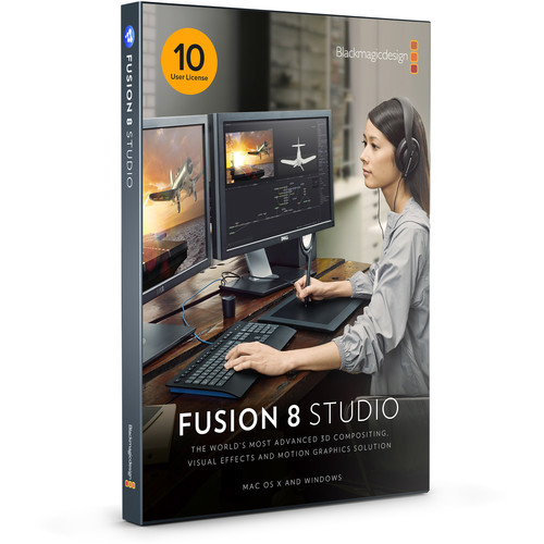 Blackmagic Design Fusion Studio MultiPack 10 (DV/STUFUS/NLPK10)