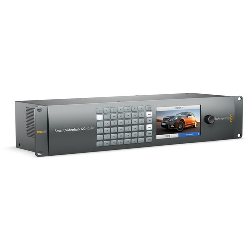 Blackmagic Design Smart Videohub 12G 40x40 (VHUBSMARTE12G4040)