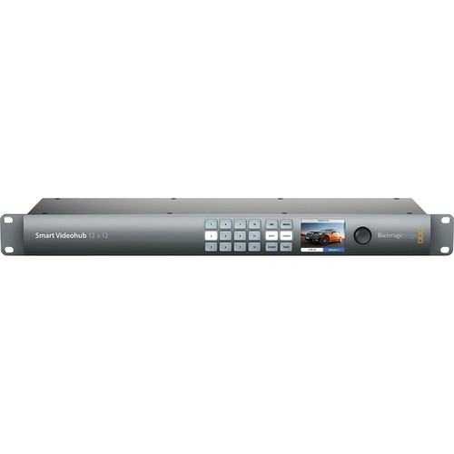 Blackmagic Design Smart Videohub 12x12 (VHUBSMART6G1212)