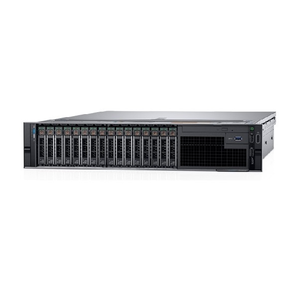 Server DELL PowerEdge R740 16x2.5in / 1x Silver 4210 / 32GB / PERC H730P/ 2x750W