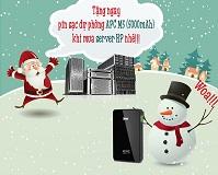Tặng pin sạc dự phòng khi mua server HP tại Đăng Di