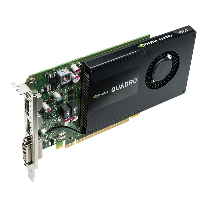 Ứng dụng phù hợp với card NVIDIA Quadro K2200